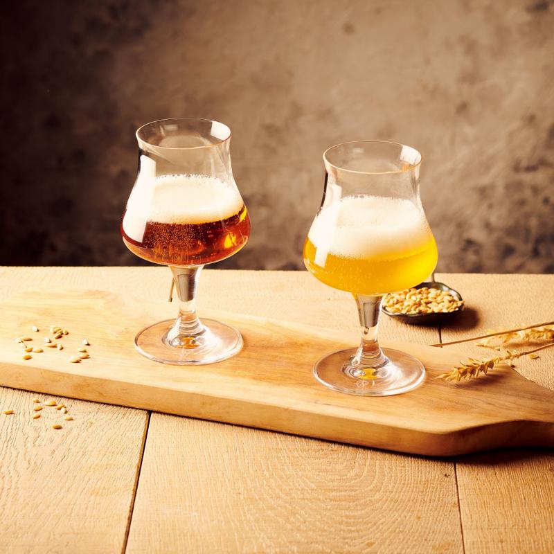 Verre bière degustation